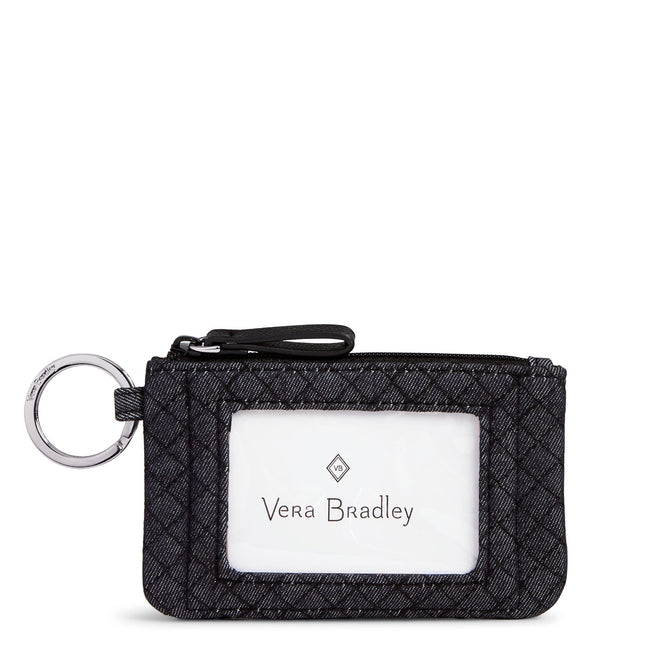 Zip ID Case-Denim Navy-Image 1-Vera Bradley