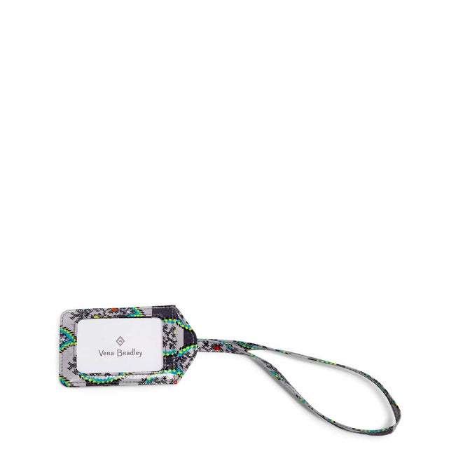Luggage Tag-Paisley Stripes-Image 1-Vera Bradley
