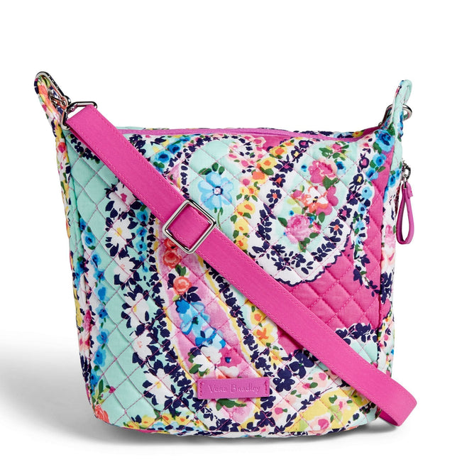Carson Mini Hobo Crossbody-Wildflower Paisley-Image 1-Vera Bradley