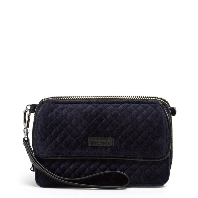 RFID All in One Crossbody-Velvet Classic Navy-Image 1-Vera Bradley