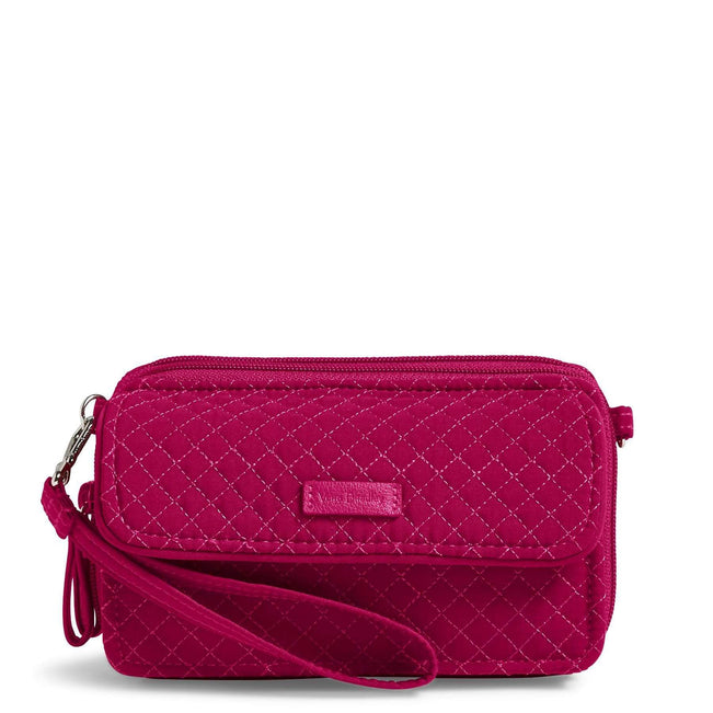 RFID All in One Crossbody-Microfiber Passion Pink-Image 1-Vera Bradley