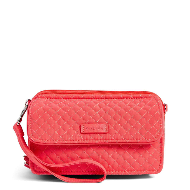 RFID All in One Crossbody-Microfiber Coral Reef-Image 1-Vera Bradley
