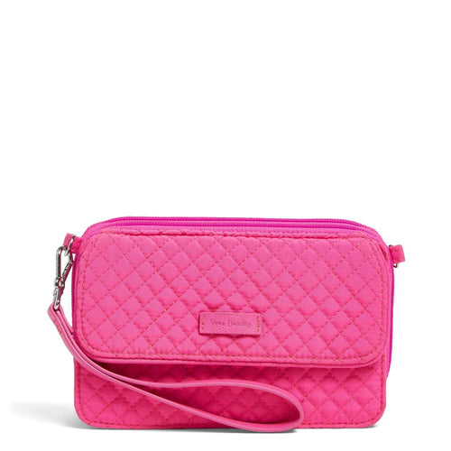 RFID All in One Crossbody-Microfiber Rose Petal-Image 1-Vera Bradley