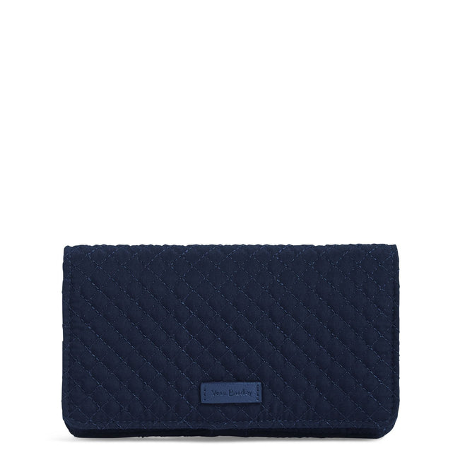 RFID All Together Crossbody-Microfiber Classic Navy-Image 1-Vera Bradley