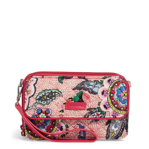 RFID All in One Crossbody-Stitched Flowers-Image 1-Vera Bradley