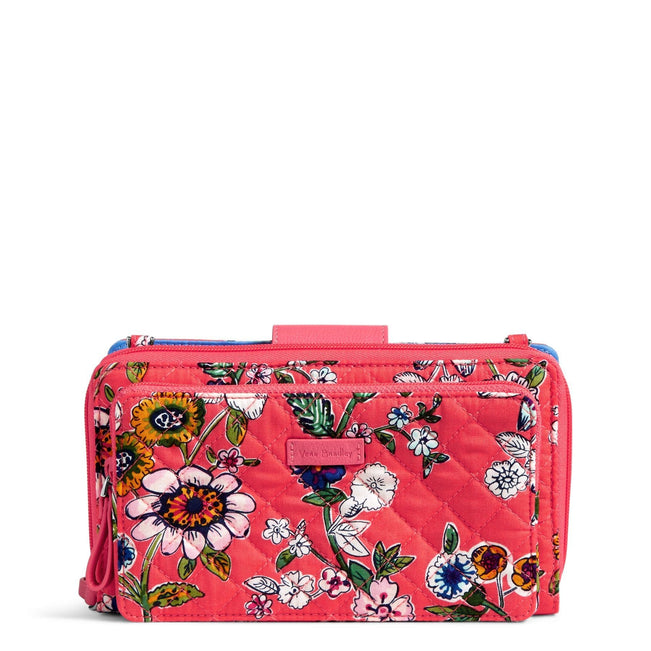 RFID Deluxe All Together Crossbody-Coral Floral-Image 1-Vera Bradley
