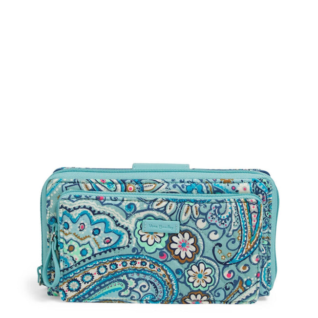RFID Deluxe All Together Crossbody-Daisy Dot Paisley-Image 1-Vera Bradley