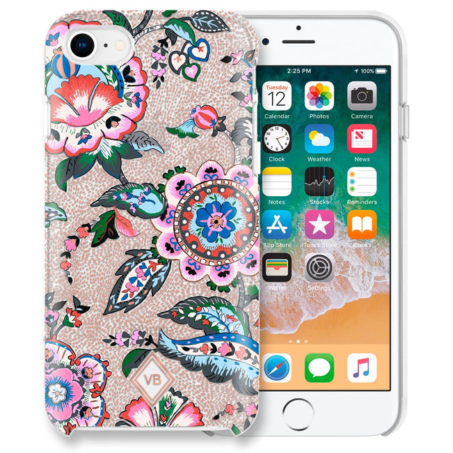 Flexible Phone Case 6/6S/7/8-Stitched Flowers-Image 1-Vera Bradley