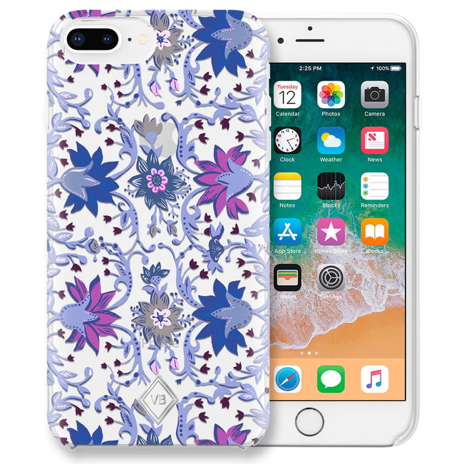 Flexible Phone Case 6+/7+/8+-Bramble Vines-Image 1-Vera Bradley