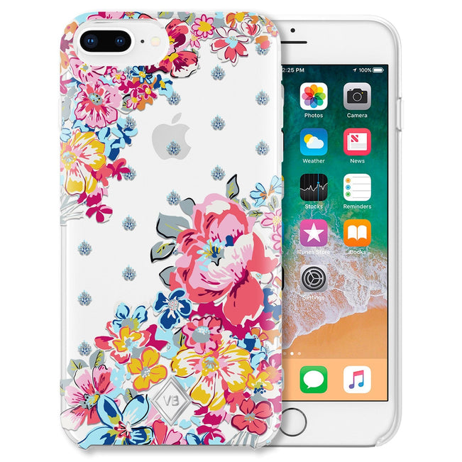 Flexible Phone Case 6+/7+/8+-Pretty Posies-Image 1-Vera Bradley