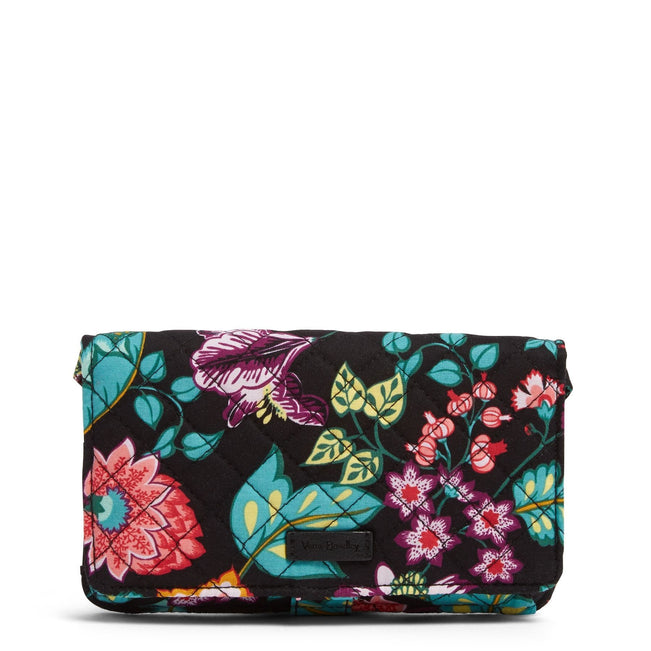 RFID All Together Crossbody-Vines Floral-Image 1-Vera Bradley