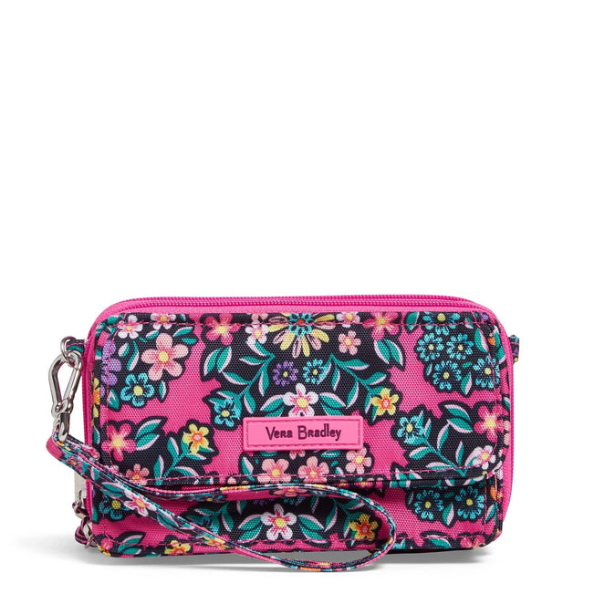 RFID All in One Crossbody-Kaleidoscope Rosettes-Image 1-Vera Bradley