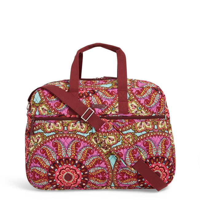 Factory Style Grand Traveler Bag-Resort Medallion-Image 1-Vera Bradley