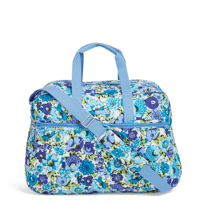 Factory Style Grand Traveler Bag-Blueberry Blooms-Image 1-Vera Bradley