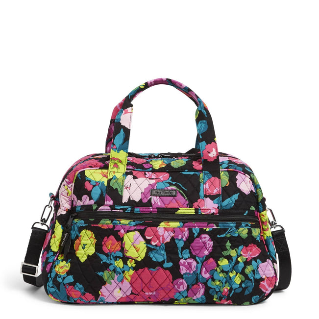 Factory Style Compact Traveler Bag-Hilo Meadow-Image 1-Vera Bradley