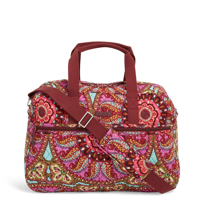 Factory Style Medium Traveler Bag-Resort Medallion-Image 1-Vera Bradley