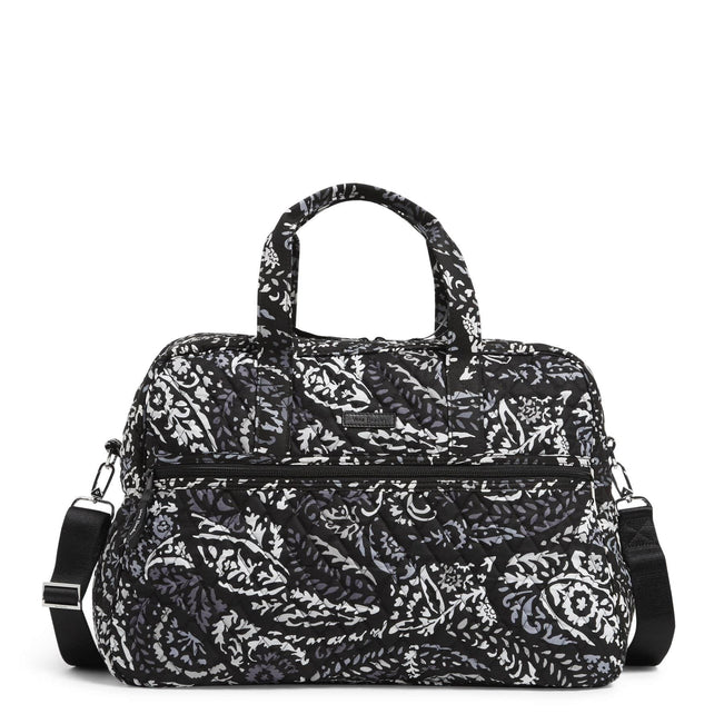 Factory Style Medium Traveler Bag-Paisley Noir-Image 1-Vera Bradley