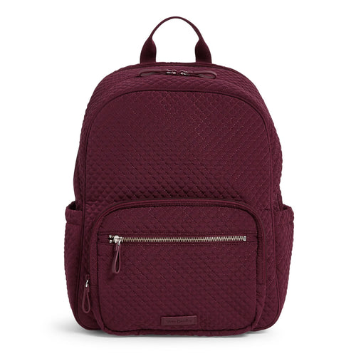 Backpack Baby Bag-Microfiber Mulled Wine-Image 1-Vera Bradley