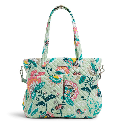 Ultimate Baby Bag-Mint Flowers-Image 1-Vera Bradley