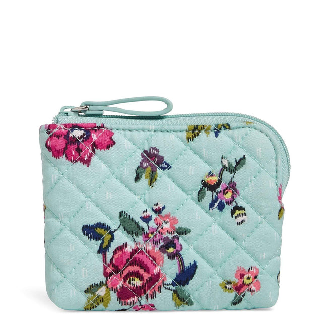 Coin Purse-Water Bouquet-Image 1-Vera Bradley