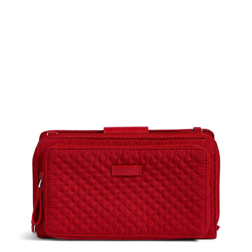 RFID Deluxe All Together Crossbody-Microfiber Cardinal Red-Image 1-Vera Bradley