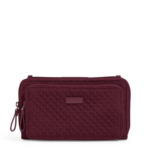 RFID Deluxe All Together Crossbody-Microfiber Mulled Wine-Image 1-Vera Bradley