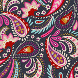 Factory Style Lighten Up Zip ID Case-Painted Paisley-Image 3-Vera Bradley
