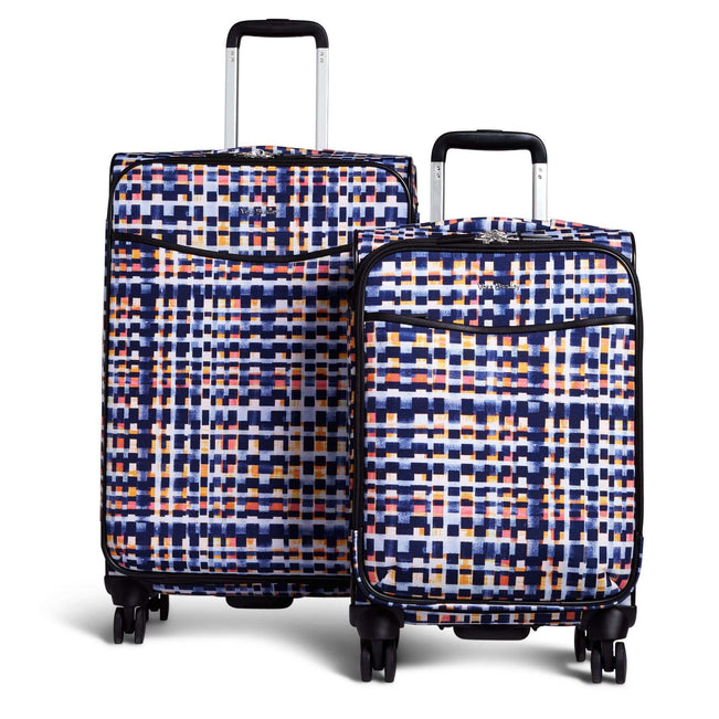 Spinner Luggage Set-Abstract Blocks-Image 1-Vera Bradley