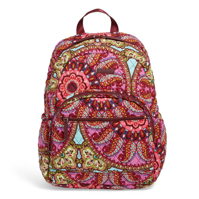 Factory Style Essential Backpack-Resort Medallion-Image 1-Vera Bradley