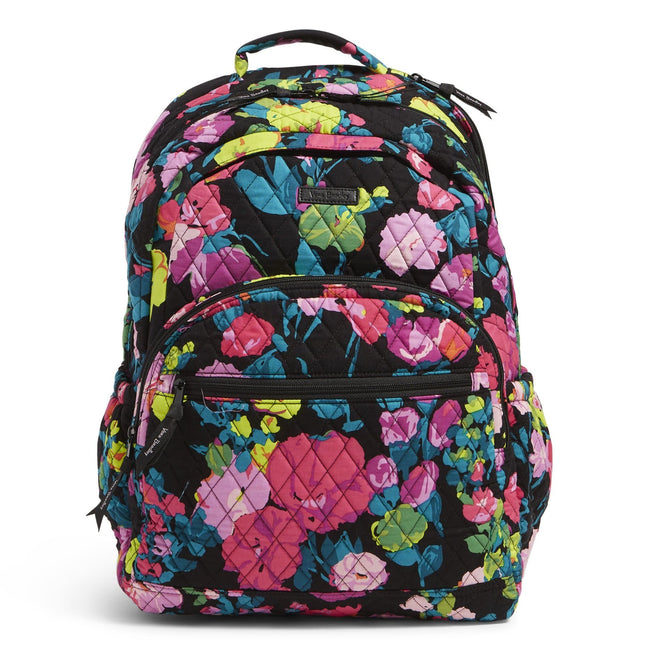 Factory Style Essential Large Backpack-Hilo Meadow-Image 1-Vera Bradley