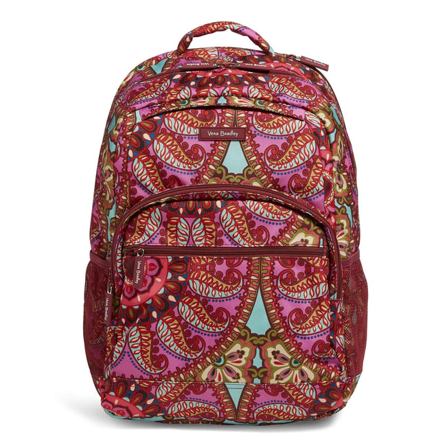 Factory Style Lighten Up Essential Large Backpack-Resort Medallion-Image 1-Vera Bradley