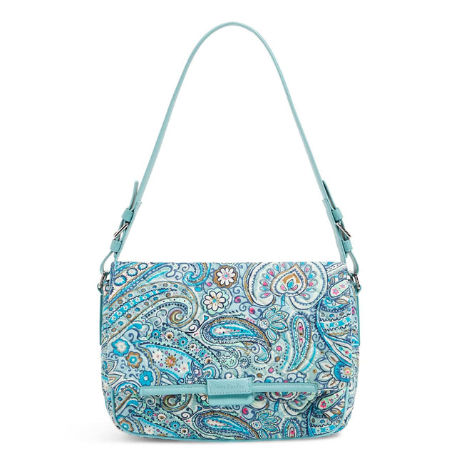 Shoulder Bag-Daisy Dot Paisley-Image 1-Vera Bradley