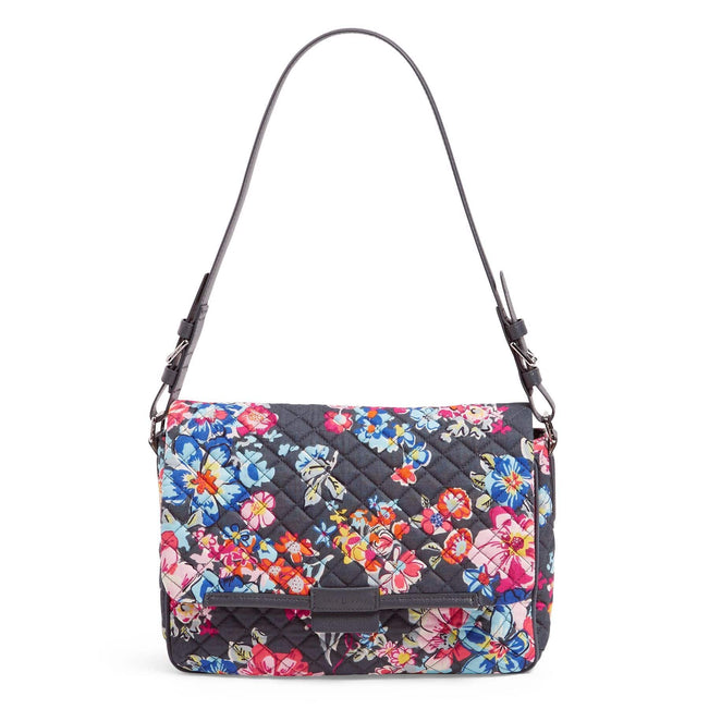 Shoulder Bag-Pretty Posies-Image 1-Vera Bradley