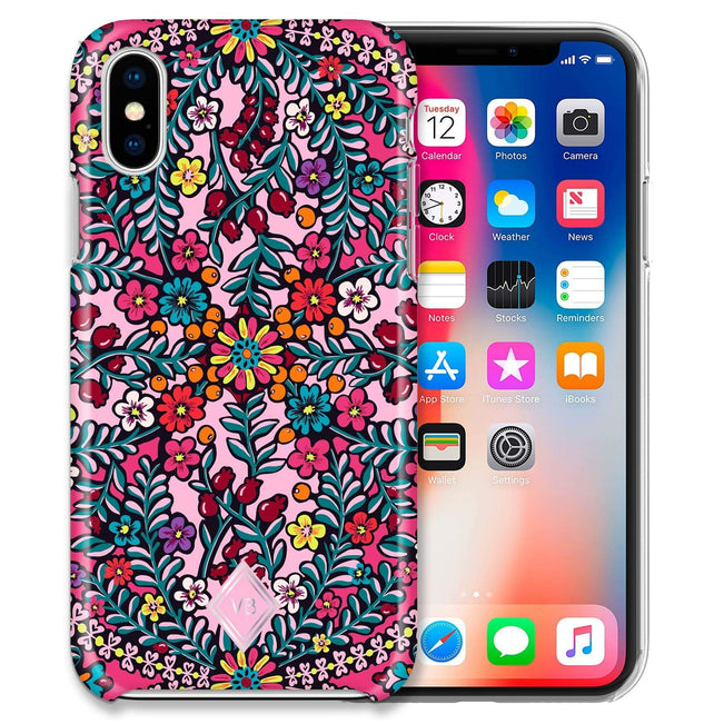 Flexi Case for iPhone X/XS-Kaleidoscope-Image 1-Vera Bradley