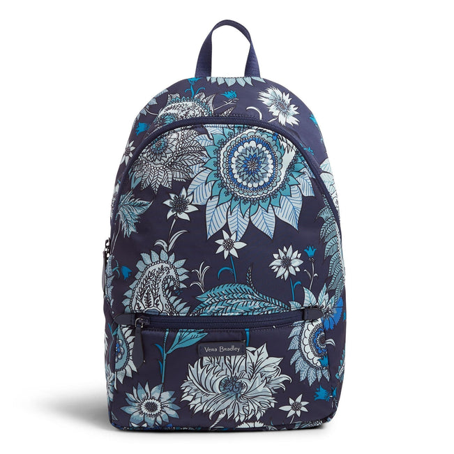 Midtown Convertible Backpack-Cornflower Blossoms-Image 1-Vera Bradley