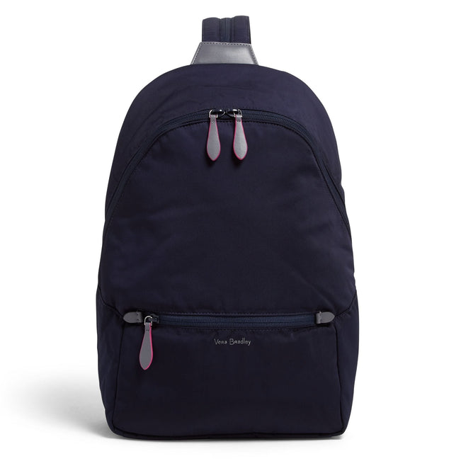 Midtown Convertible Backpack-Midtown Classic Navy-Image 1-Vera Bradley