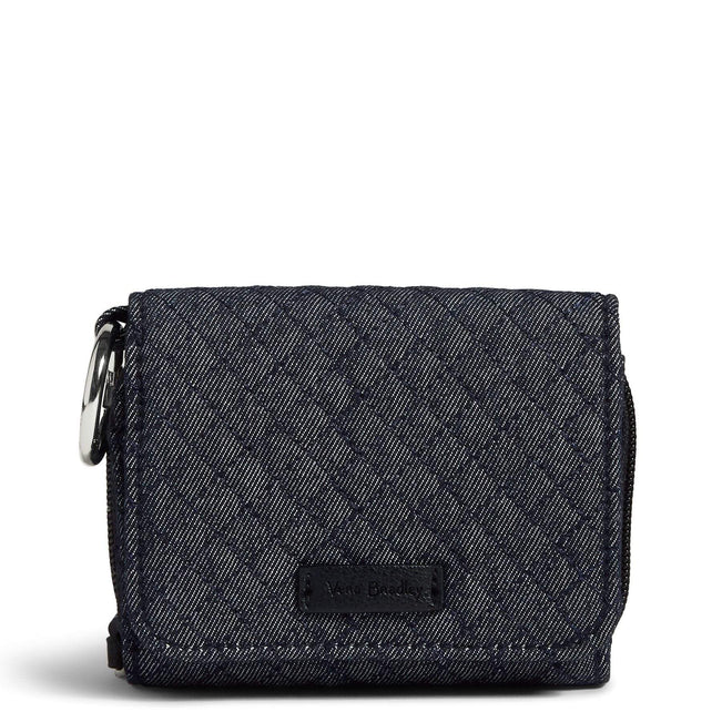 RFID Card Case-Denim Navy-Image 1-Vera Bradley