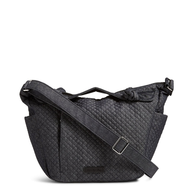 Hadley On the Go Satchel-Denim Navy-Image 1-Vera Bradley