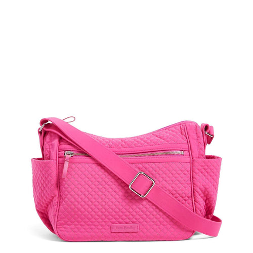 On the Go Crossbody-Microfiber Rose Petal-Image 1-Vera Bradley