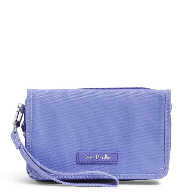 Factory Style Lighten Up RFID 3-in-1 Crossbody-Deep Periwinkle-Image 1-Vera Bradley