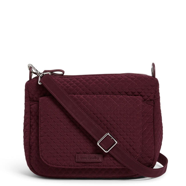 Carson Mini Shoulder Bag-Microfiber Mulled Wine-Image 1-Vera Bradley