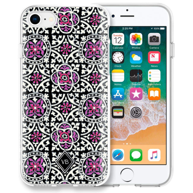 Factory Style Protective Slim Case for iPhone 6/6s/7/8-Scroll Medallion-Image 1-Vera Bradley
