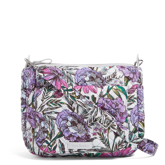 Carson Mini Shoulder Bag-Lavender Meadow-Image 1-Vera Bradley