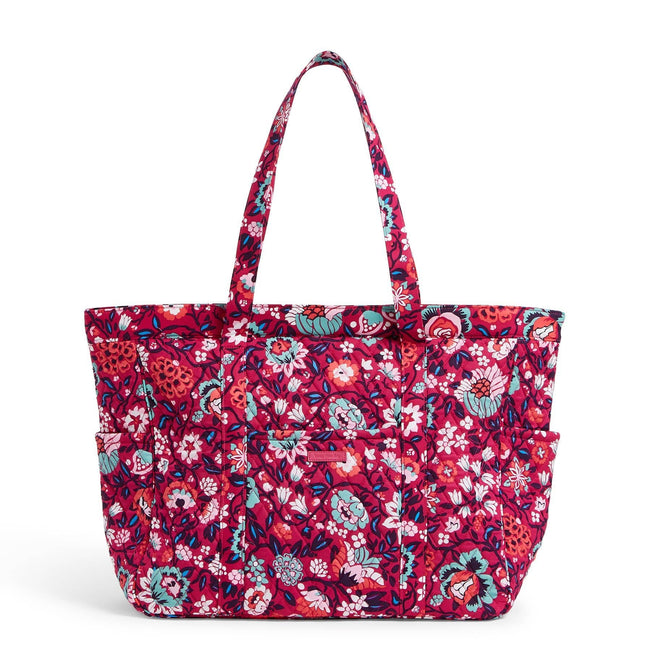Factory Style Get Going Tote Bag-Bloom Berry-Image 1-Vera Bradley