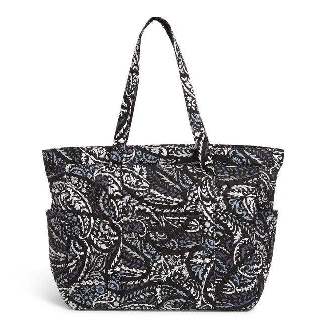 Factory Style Get Going Tote Bag-Paisley Noir-Image 1-Vera Bradley