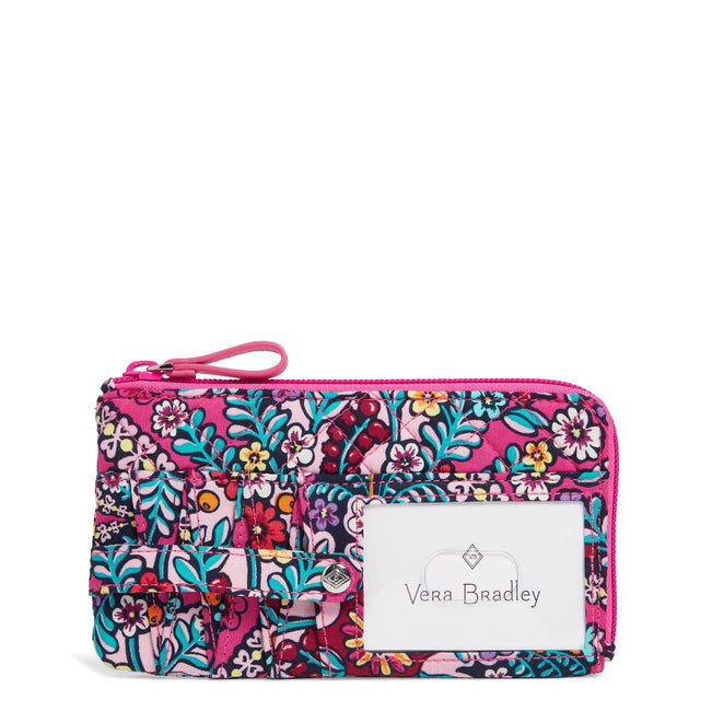 RFID Ultimate Card Case-Kaleidoscope-Image 1-Vera Bradley