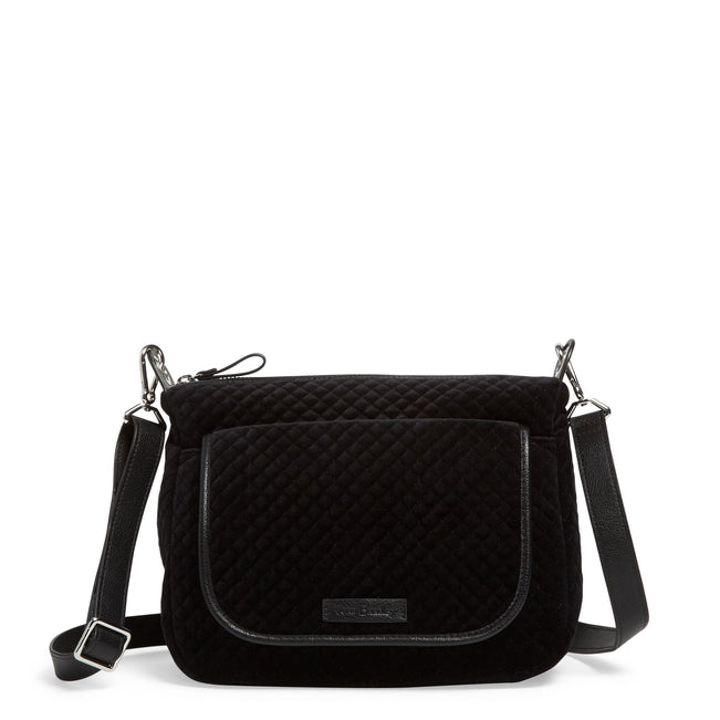 Carson Mini Shoulder Bag-Velvet Black-Image 1-Vera Bradley