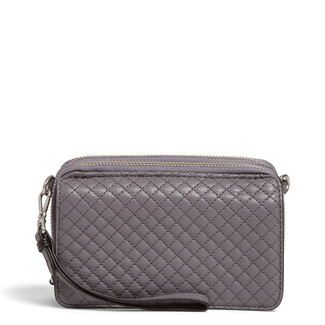 Carryall RFID All in One Crossbody-Gallatin Storm Cloud-Image 1-Vera Bradley