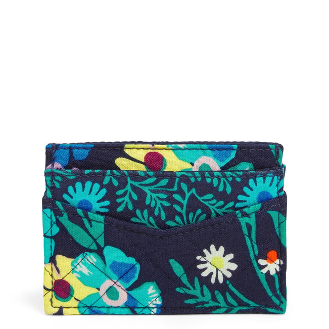 Slim Card Case-Moonlight Garden-Image 1-Vera Bradley