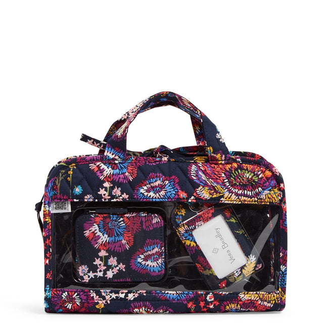 Factory Style Travel Bundle-Midnight Wildflowers-Image 1-Vera Bradley